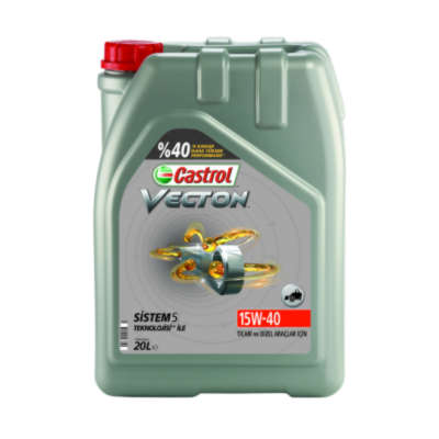 Моторное масло CASTROL VECTON 15W-40 20L